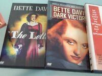 BETTY DAVIS set of four dvd ,s