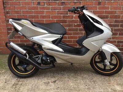 Yamaha Aerox 2004 in Grey 70cc