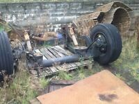 Scania mid lift axle
