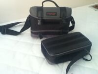 Camera case with detachable compartment. Excellent condition.