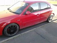 Red Ford Mondeo 2.5v6 Zetec Sport