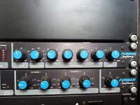 FURMAN SIGNAL PROCESSING - STEREO COMPRESSOR GATE & TUNABLE CROSSOVER - DJ EQUIPMENT/MUSIC INDUSTRY