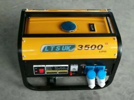 new petrol and lpg generator