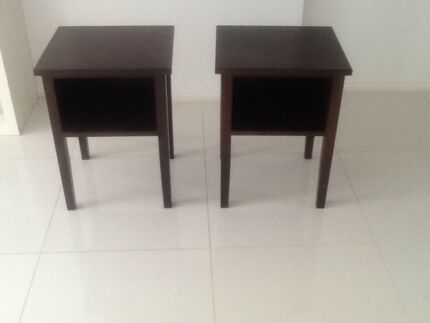Pair of bedside tables Redland Bay Redland Area Preview