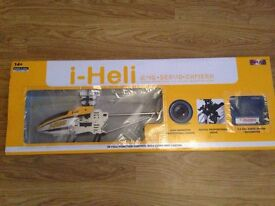 i-Heli T40 with Camera Remote Control Helicopter Good As New