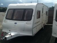 2004 Bailey senator Oklahoma fixed bed 4 berth with awning