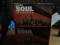 The ultimate soul collection with 20 CDs no scratches and box.