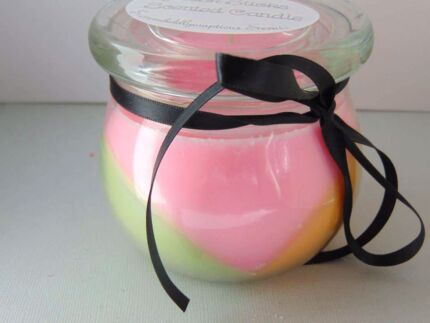 Home made soy candle Musk Sticks scent North Ipswich Ipswich City Preview
