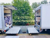 MAN WITH VAN/TRUCK LOGISTICS CROSS CHANNEL MOVING OFFICE REMOVALS PALLETS MOVERS SHIFTING LONDON EU