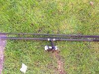 Fladen carp rod and reel