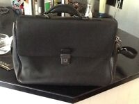 Laptop man bag , Jasper Conran, leather