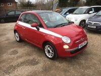 2010 [10] FIAT 500 1.4 PETROL 6 SPEED 1 OWNER FROM NEW
