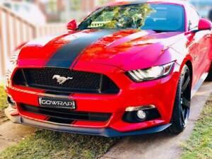 Ford Mustang GT stripes racing stripes custom design wrapFord Mustang