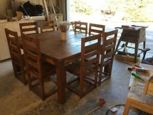 Customer Made Farmhouse Table Sets