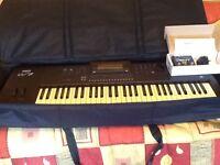 Yamaha W7 synthesizer + Neo mini vent