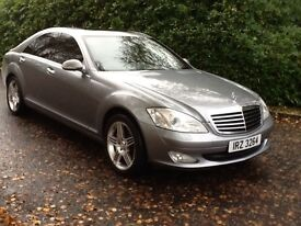 S class full service history lovely car