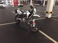 SFM ZZ 125 Motorbike road legal