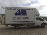 Man with van Plymouth, Removals, Clearances, Waste collection and disposal