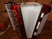 AIDA VII Double casotto accordion