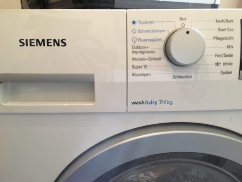 Waschtrockner siemens iq wd h motor