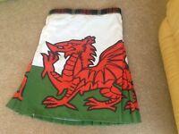 Mens Welsh rugby kilt