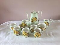 Vintage China Coffee Set