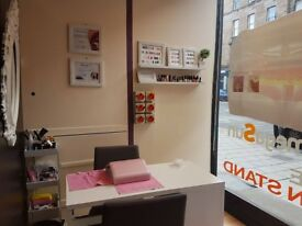 NAIL BAR SPACE TO RENT