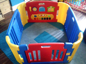 Little Playzone Play Pen with Lights and Sounds - offers