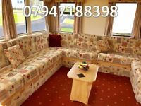 🌟🌟Static caravan FOR SALE sleeps 6 on 12 month park with direct beach access low site fees🌟🌟
