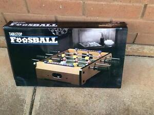 Tabletop Football and a Tabletop Air Hockey Game Westbourne Park Mitcham Area Preview