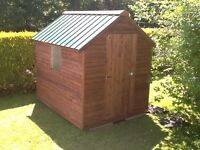 8 x 6 Garden sheds. ( £320 Delivered )