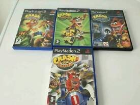 PS2 Crash Bandicoot bundle