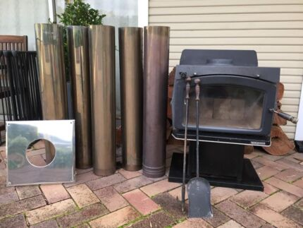 NORSEMAN FIREPLACE Wood Heater & flue Hornsby Hornsby Area Preview