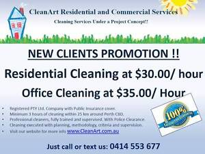 CleanArt Residential and Commercial Cleaning Perth Perth City Area Preview