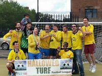 Londons best 6 a-side Football League - Teams & Individuals Welcome