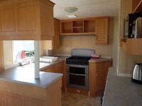 6 berth caravan at creswell to hire