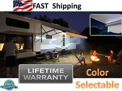 LED Motorhome RV ____ 16 feet of LED Awning Lights - light your power step