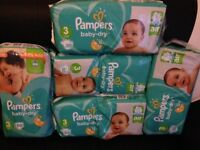 Nappies Baby Dry Size 3