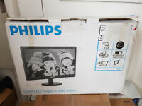 "Philips 19"" monitor- Boxed"