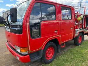 1995 Nissan Dual Cab Atlas Truck, 5000 kms since new!!!! 5 speed manual ex-fire truck!!  CHECK THIS  Yorklea Richmond Valley Preview