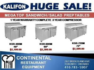 Huge Sale Wow Commercial Refrigeration! Excellent Warranty and Service!.While Quantities Last!.Huge Winter Sale!
