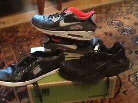 Nike and D and G trainers size 8.5