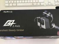 Feiyu G4 3 axis gimbal stabilisator for GoPro Hero