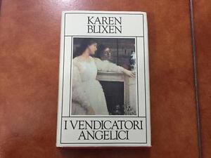 KAREN-BLIXEN-I-VENDICATORI-ANGELICI-LIBRO-BOOK-COME-NUOVO