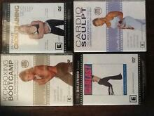 Exersize DVD's Jeanette Jenkins HOLLYWOOD FITNESS TRAINER (SET 4) West Lakes Shore Charles Sturt Area Preview