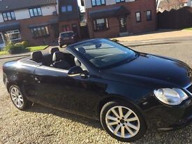 Volkswagen EOS TDI 07 plate £4500 ono - Full years mot and 4 new tyres this month