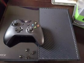 Xbox One 500gb Console and 4 Games