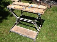 Black & Decker original workmate vice bench folding