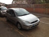 Ford Focus Zetec 2003 Silver 5 door ONLY 90K MILES Very clean car
