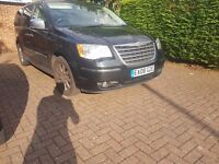 chrysler grand voyager crd (CAT D DAMAGED REPAIRED)